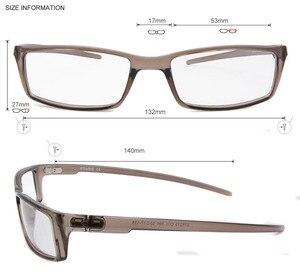 Image 3 - Esnbie 새로운 안경 안경 프레임 안경 프레임 블랙 tr90 광학 유리 처방 안경 프레임 rx