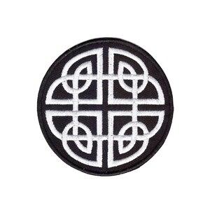 Новинка 2019, кельтский узел, ирландский Готический Байкер, татуировка, Волшебная аппликация, Железный патч