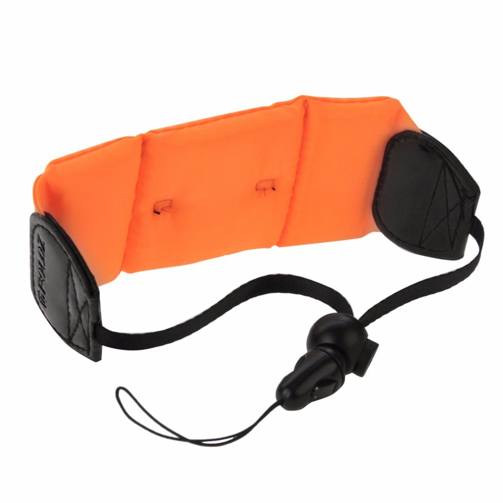 PULUZ PU155 Bright Colored Underwater Waterproof Floating Hand Wrist Belt Strap Photography for GoPro Sport Camera Accessor