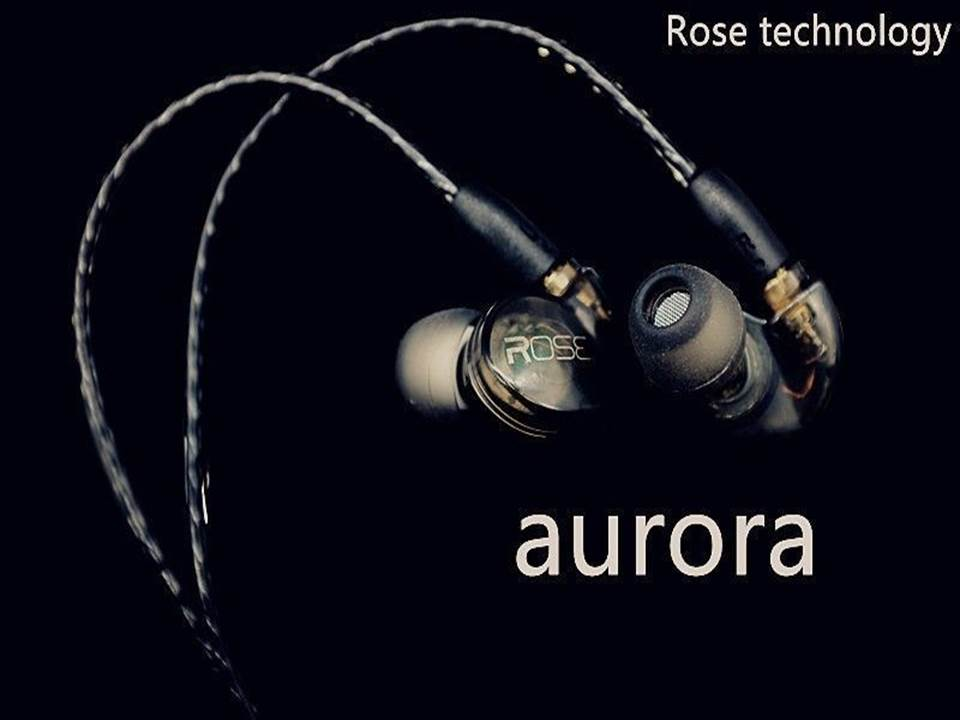 2017 New Rose Aurora In Ear Earphone Macromolecule Dynamic Earphone HIFI Monitor DJ Stage Earbud Earphone With MMCX Interface ukingmei uk 2050 wireless in ear monitor system sr 2050 iem personal in ear stage monitoring 2 transmitter 2 receivers