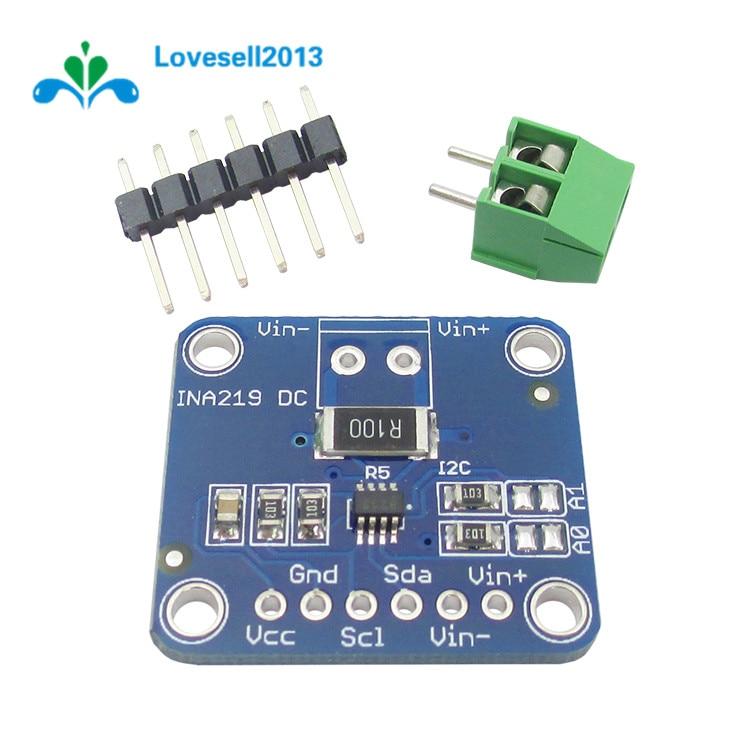 2pcs INA219 I2C Bi-directional Current Power Supply Sensor Monitoring Module