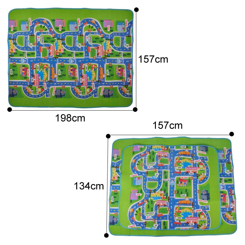 Activity Child Baby Puzzle Play Foam Mats Carpet Rug Blanket Children's Learning Educational Toys Hobbies Carpet Mat for Kids 7