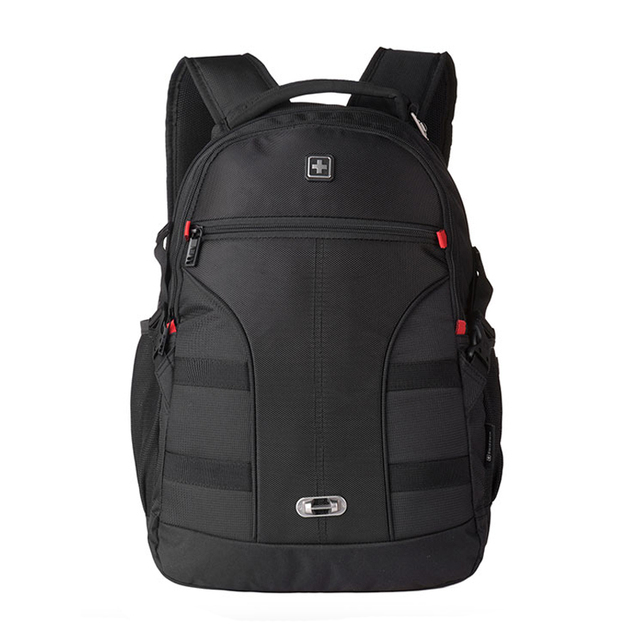 Swisswin suizo de la venta caliente 15 pulgadas bolsa de ordenador portátil hombres de caso precio mochilas mochila mujeres al por mayor 2015 nueva marca un bolso más fresco negro