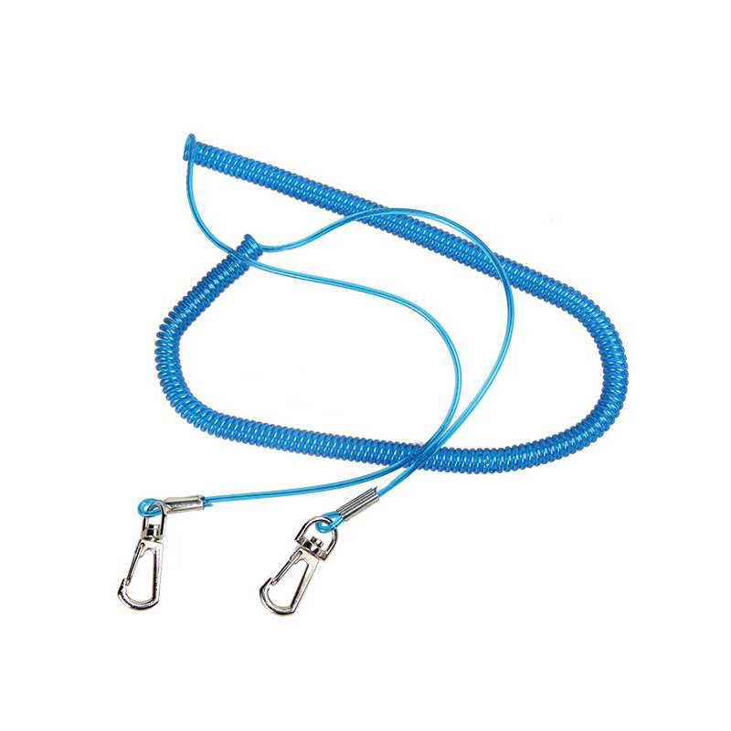 Corde résistante de câble de lanière de pêche de bateau de sécurité de tresse de 5 m colorée multicolore