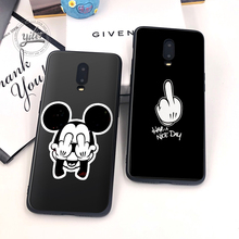 New Arrival Coque for Oneplus 6T Black Soft Silicone Cover Funda 7 Phone Cases 1+6T 1+7 Case Capa