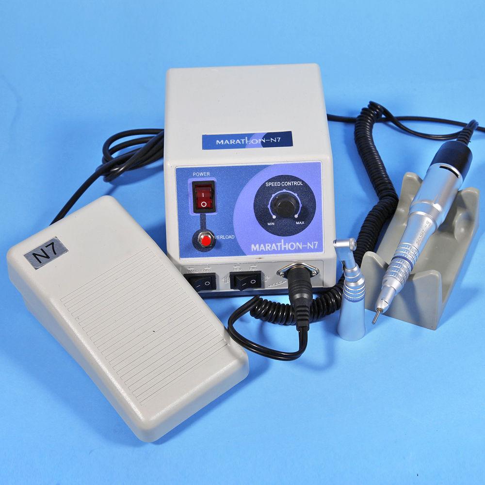 नई N7 Zahnarzt लेबर मिक्रोमोटर पोलिशर इलेक्ट्रिक मोटर स्ट्रेट कॉन्ट्रा हैंडपीस एस