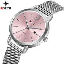 Reloj mujer 2019 NORTH Women Watches Luxury Brand Ladies Watch