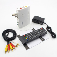 Mini ISDB T Digital Terrestrial TV Receiver HD Video Converter FTA 1080P ISDB-T Terrestrial Set Top Box for TV E Monitor CRT/LCD
