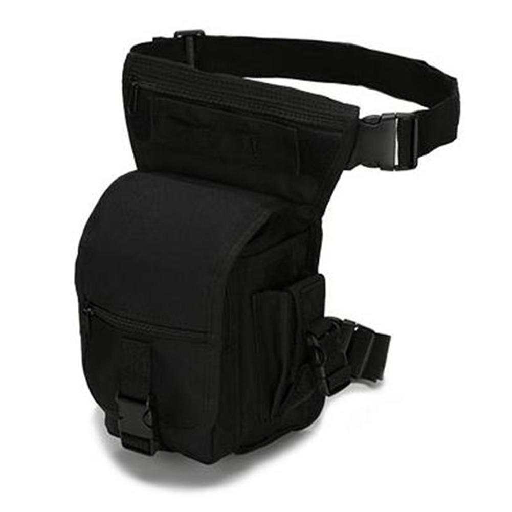 Men Portable Outdoor Leg Bag Multipurpose Camouflage Waist Bag Fanny Pack