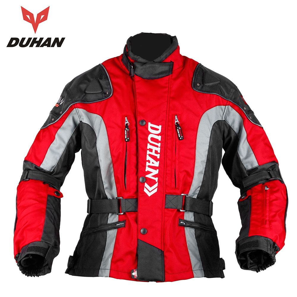 DUHAN Motorcycle Jacket Motocross Equipment Gear Men Motorcycle Cold-proof Moto Clothing Oxford Cloth Cotton Underwear duhan motorcycle jacket motocross jacket moto men windproof cold proof clothing motorbike protective gear for winter autumn