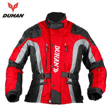 DUHAN Motorcycle Jacket Motocross Equipment Gear Men Motorcycle Cold-proof Moto Clothing Oxford Cloth Cotton Underwear