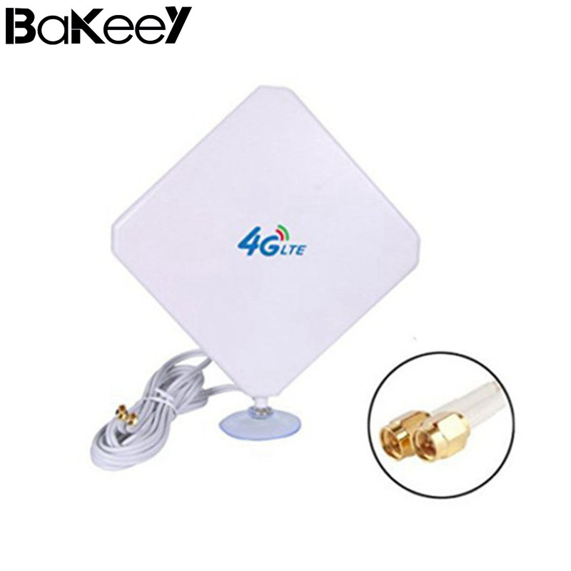 Bakeey Mobile Signal Booster 4G LTE Antenna 35dBi High Gain Amplifier Wifi Repeater Wire ...