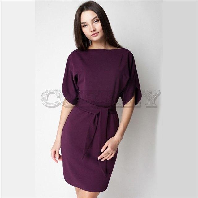 d969270fb Nuevo vestido elegante informal de verano para mujer, elegante, Otoño, a la  moda 2018