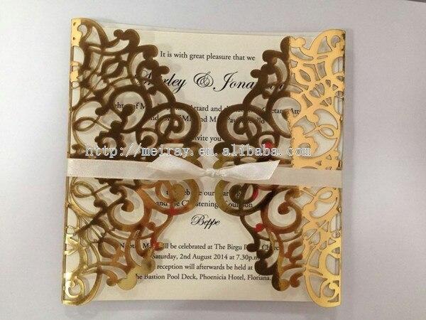 Popular Wedding Invitations GoldBuy Cheap Wedding Invitations – Card for Wedding Invitations Supplies