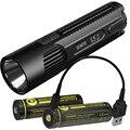 NITECORE EC4GTS высокая производительность прожектора факел + USB порт заряжаемый 18650 батарея Открытый фонарик Бесплатная доставка