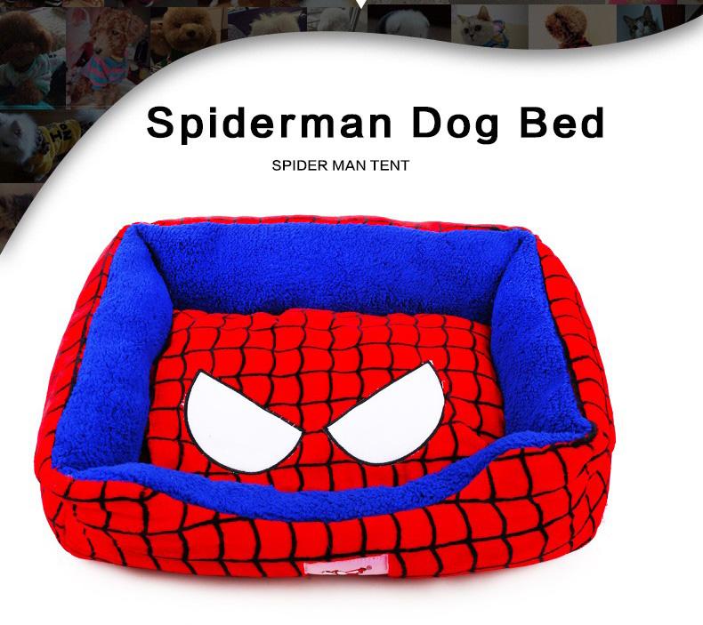 Panier pour Chien et Chat Spiderman