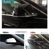 Cover Case Sticker For CADILAC SRX 2011 15 Car Styling 2 PCS Stainless Steel Reversing Rearview