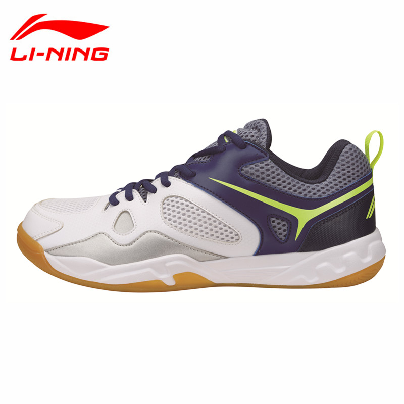 Li-Ning Newest Badminton Shoes for Men Training Breathable Lining Athletic Sneaker Anti-Slippery Sport Shoe LN AYTM025 L702OLB li ning professional badminton shoe for women cushion breathable anti slippery lining shock absorption athletic sneakers ayal024