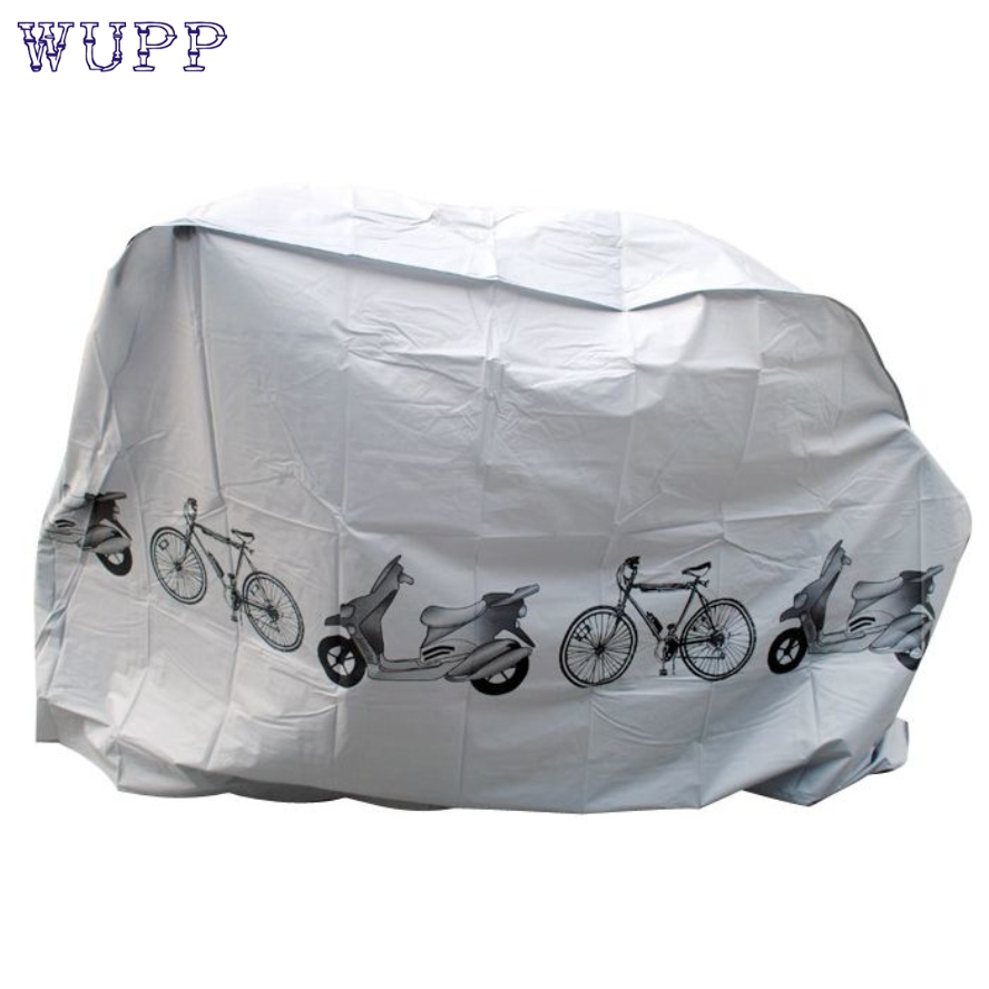 464613979fc Nueva llegada motocicleta bicicleta Bicicletas poliéster impermeable caso  protector gris