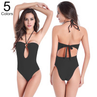 2016 High Waist Women Sexy Swimsuit Summer Slim Verano Roupa De Banho One Piece Bikini Set