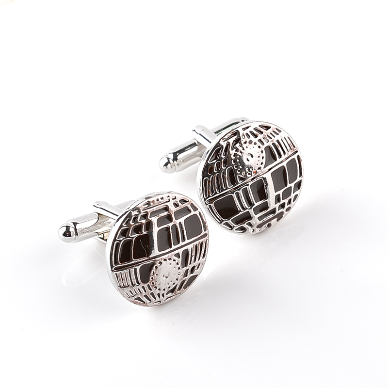 New Men Cuff Links 2017 Men Jewelry French Shirt Cufflinks Design High Quality Wedding Gifts Car Badge Logo Enamel Cuff Link