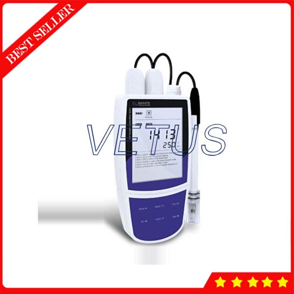 Appareil de contrôle portatif de résistivité d'appareil de contrôle de salinité de TDS de conductibilité de Bante540-DH avec l'appareil de contrôle de température