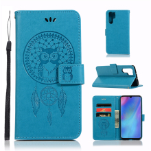 For Cover Huawei P30 Pro Case Dreamcatcher Leather Flip Wallet for Phone