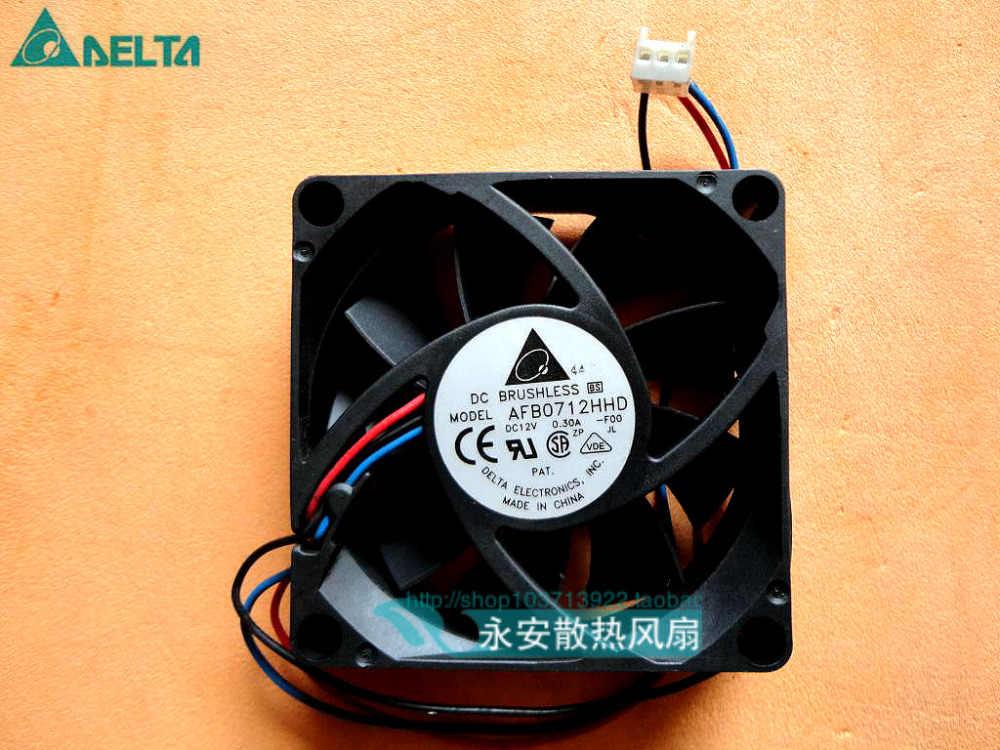 Nieuwe Radiator Cpu Koeler Ventilator Voor Server Omvormer Pc AFB0712HHD 7020 70*70*20 Mm 12V 0.30A f00 3 Draad 70 Mm