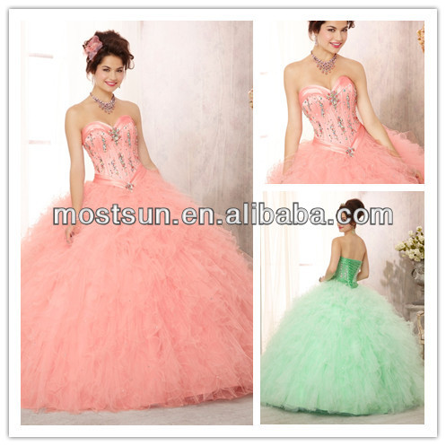 Q089B Most Beautiful Sweetheart Long Blush Pink Princess Wedding     Q089B Most Beautiful Sweetheart Long Blush Pink Princess Wedding Dresses  Pink Puffy Dresses Pink Puffy Prom