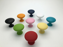 Colorful Drawer Knobs Pulls Kitchen Cabinet Knobs Dresser Handle Kids Children Blue Orange Yellow Red Pink Black White Green