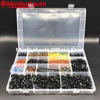 Orijinal Kalite Enjektör Tamir Takımları evrensel için Fit Türlü yakıt enjektörü servis kitleri 16 ürünleri/kutusu