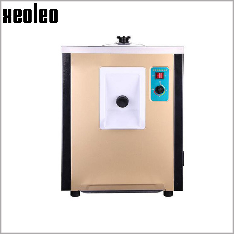 Xeoleo 10-12L/H Hard Ice cream maker 930W Commerical Ice cream machine Silver/Golden Italy Ice cream Automatic