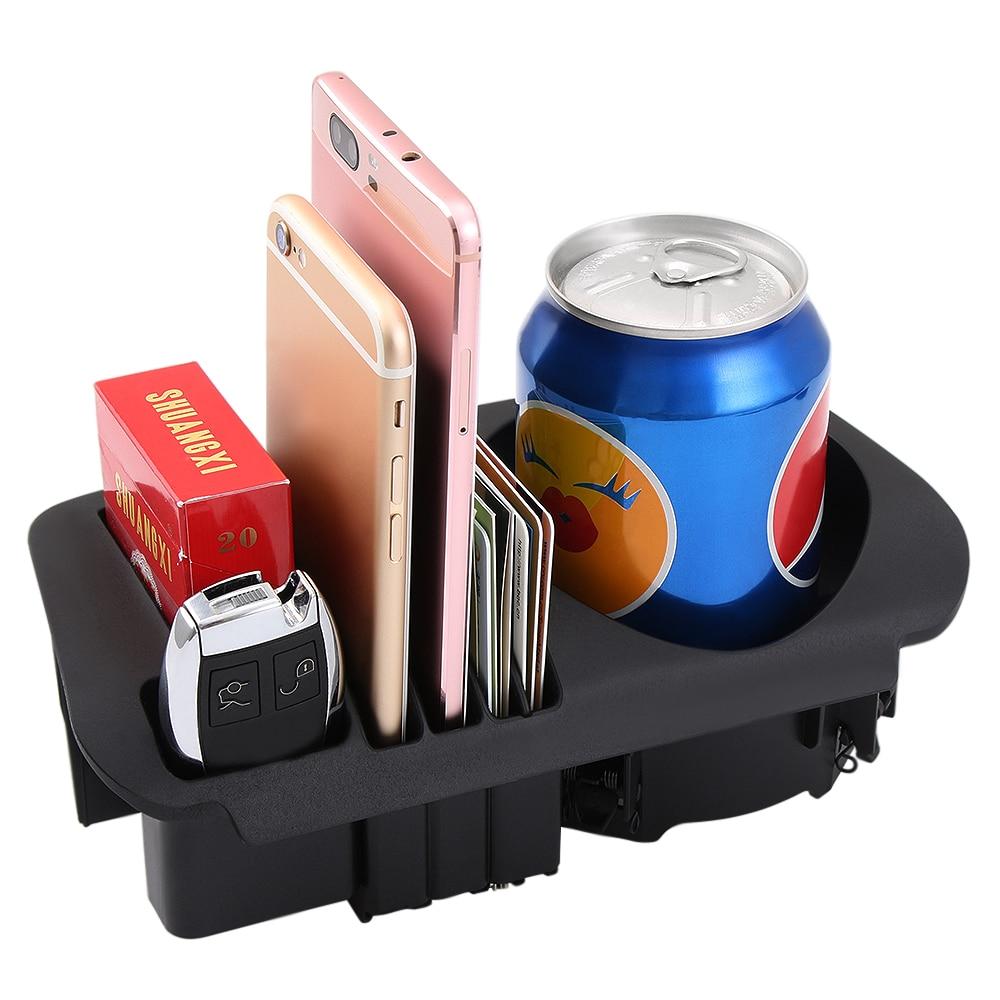 VCiiC Car Accessories,Car Central Storage Box Cup Holder For Mercedes Benz C Class W205/GLC Class X253/E Class W213 E200 E300l