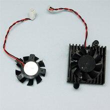 Heatsink Fan for Dahua DVR HDCVI Camera DAHUA DVR 5V Motherboard Fan 2 Wire Cooler Cooling Fan