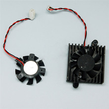 Ventilador do dissipador de calor para dahua dvr hdcvi câmera dahua dvr 5 v placa mãe ventilador 2 fio cooler ventilador de refrigeração