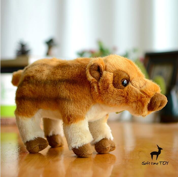 Kids Toys  Plush  Stuffed  Animals  Gifts Toy Cute Little Wild Boar Piglets Simulation  Cub Dolls 1pcs 18cm cute flower monkey plush toy stuffed animals