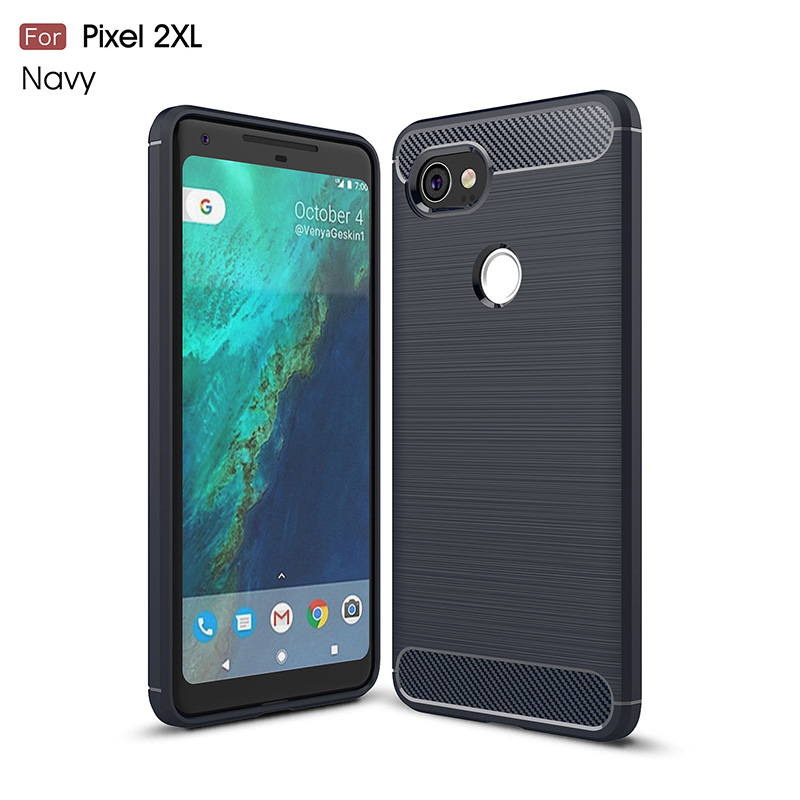 Cell Phone Case For Google Pixel 2 XL Brushed Drawing Silicone Cover Case For Google Pixel 2XL Mobile Phone Shell Coque≪