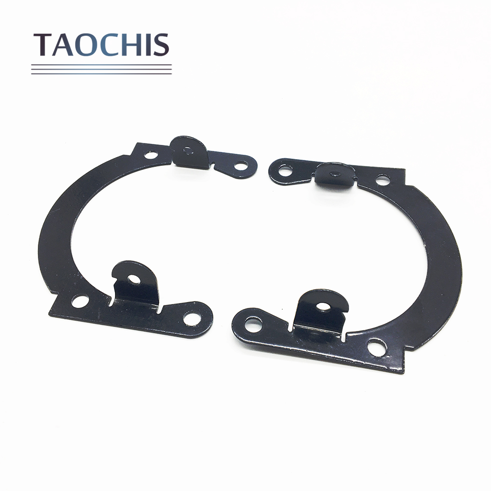 TAOCHIS Fog light Universal Bracket Adapter Frame For M6 2.5 3.0 inch Fog lamp bi xenon Projector Lens Modify Screws Nuts