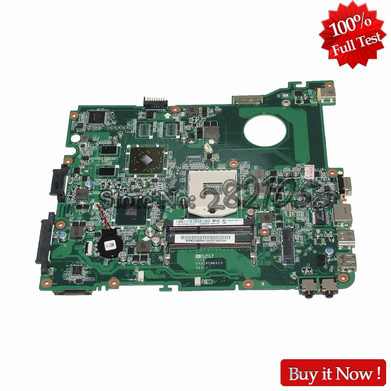цена NOKOTION DA0ZRCMB6C0 MBND706001 MB.ND706.001 For Acer eMachines E732 E732Z Laptop Motherboard HD6370M HM55 DDR3 Free CPU