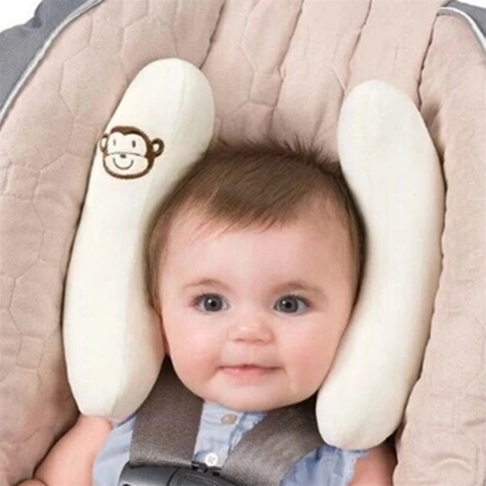 Hot Soft Adjustable Baby Stroller Pillows Infant Car Seat Head Neck Protection Pillow Bebe Boy Girl Head Support Drop Shipping