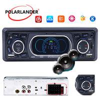 1 Din Audio Stereo MP3 Player SD TD Card Car Radio USB AUX FM Remote Control 12V Vehicle Bluetooth