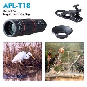 Image 3 - APEXEL HD אופטי אוניברסלי 18x25 המשקפת למצלמות עדשת 18X טלה טלפון עדשה עם חצובה עבור Smartphone xiaomi Redmi