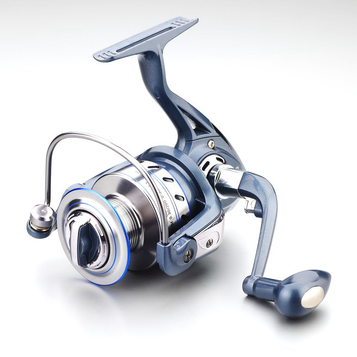 2017 Gapless Spinning Fishing Reel 13BB JF1000 7000 5.5 1 Metal Carp Fishing Wheel Spinning Reel For Fishing New fishing vessel