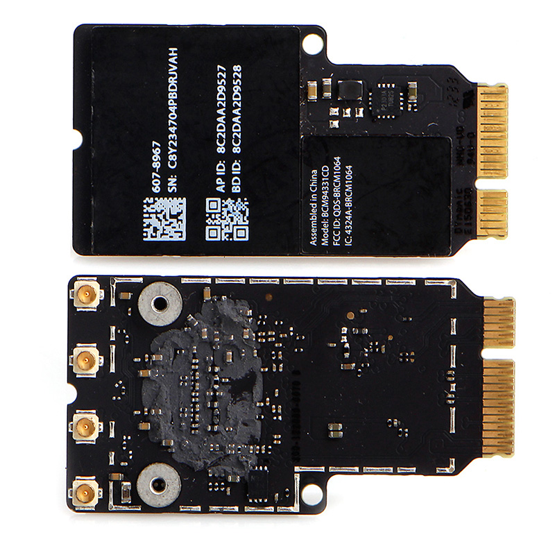 New Dual Band BCM94331CD BT 4.0 Wireless Card For Apple iMAC A1418 A1419 MacBook|wireless card|dual band|dual band wireless - title=