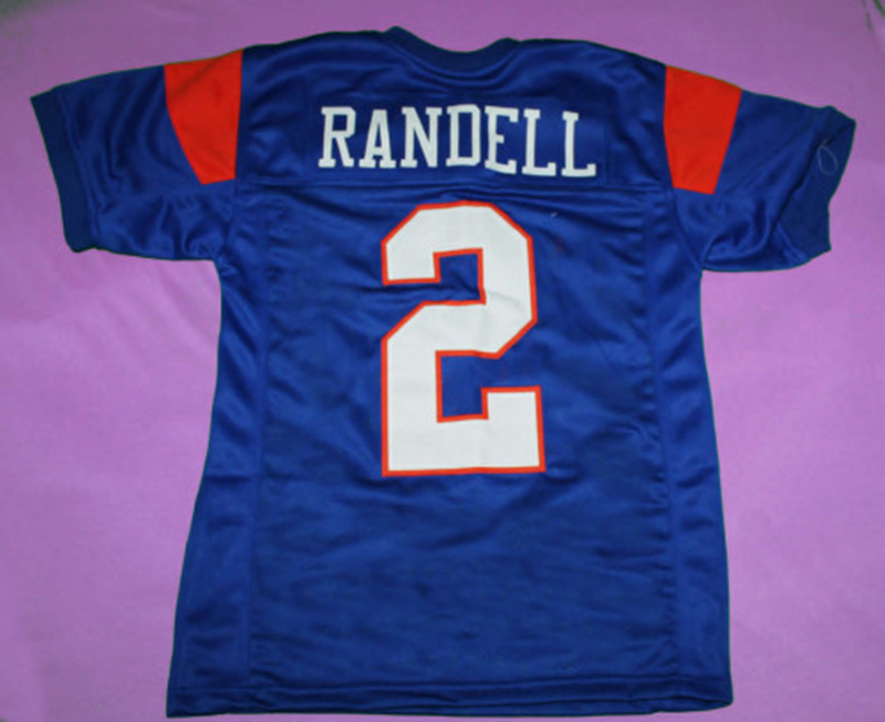 #2 RADON RANDELL Blue Mountain State Football Jersey Sewn Any Name Stitched American Football Jersey Blue M-3XL Free Shipping