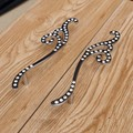 96mm moda moderna strass direito deixou de móveis estante cômoda lida com prata cristal K9 gabinete puxa maçanetas de cromo