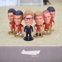 LIV FC 6PCS Display Box Soccer Player Star Figurine 2 5 Action Dolls