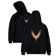 Logan Paul Hoodie Zipper Coat Winter Plus Online Star Hoodies Women Zipper Hooded Sweatshirts Fashion Jacket