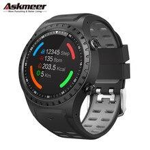 ASKMEER M1 GPS Smart Watch Men Waterproof Bluetooth Dial Call Heart Rate Monitor Multi Sport Smartwatch for Apple Huawei Xiaomi