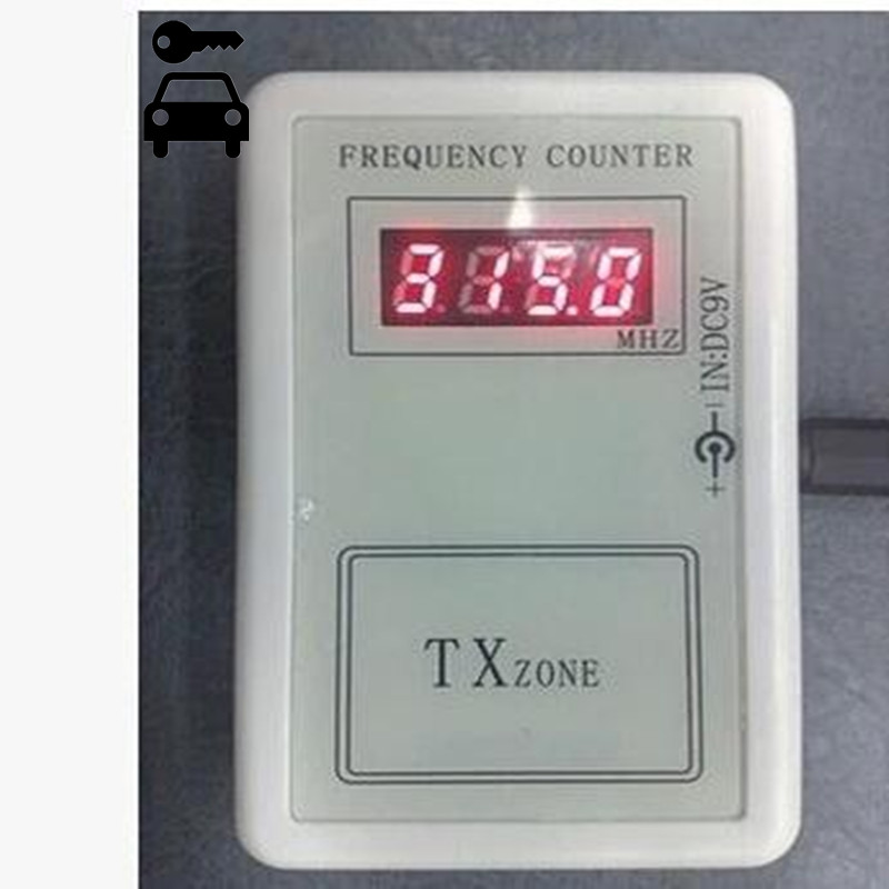 Prix pour Livraison Gratuite TXzone Sans Fil Frequency Counter Tester 250-1000 Mhz À Distance Fréquence Testeur